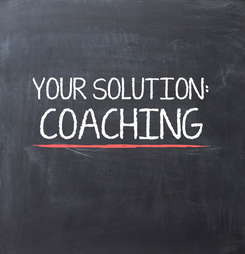 Image that says Your Solution: Coaching